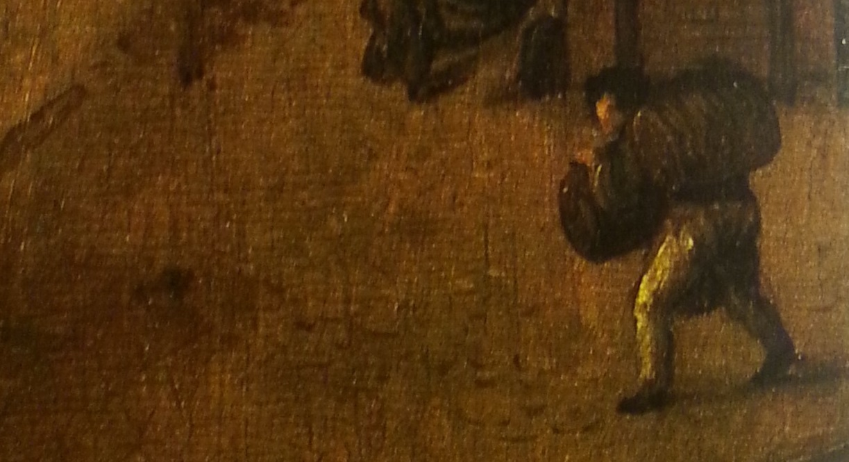 Een Leidse bierdrager (1518).